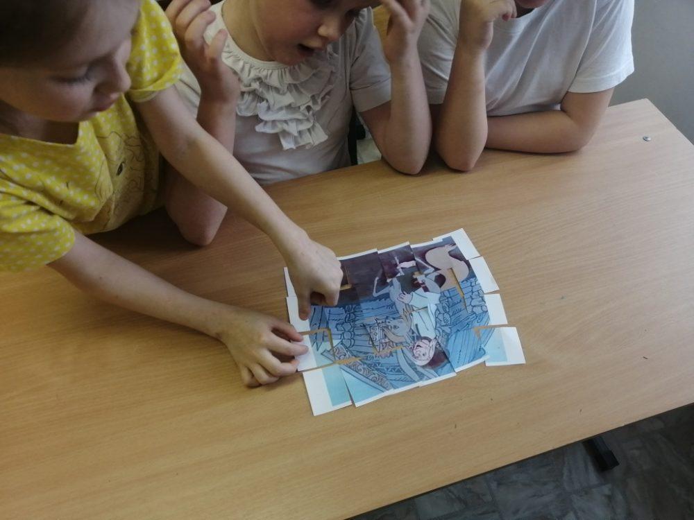 Читаем и рисуем Конька-Горбунка