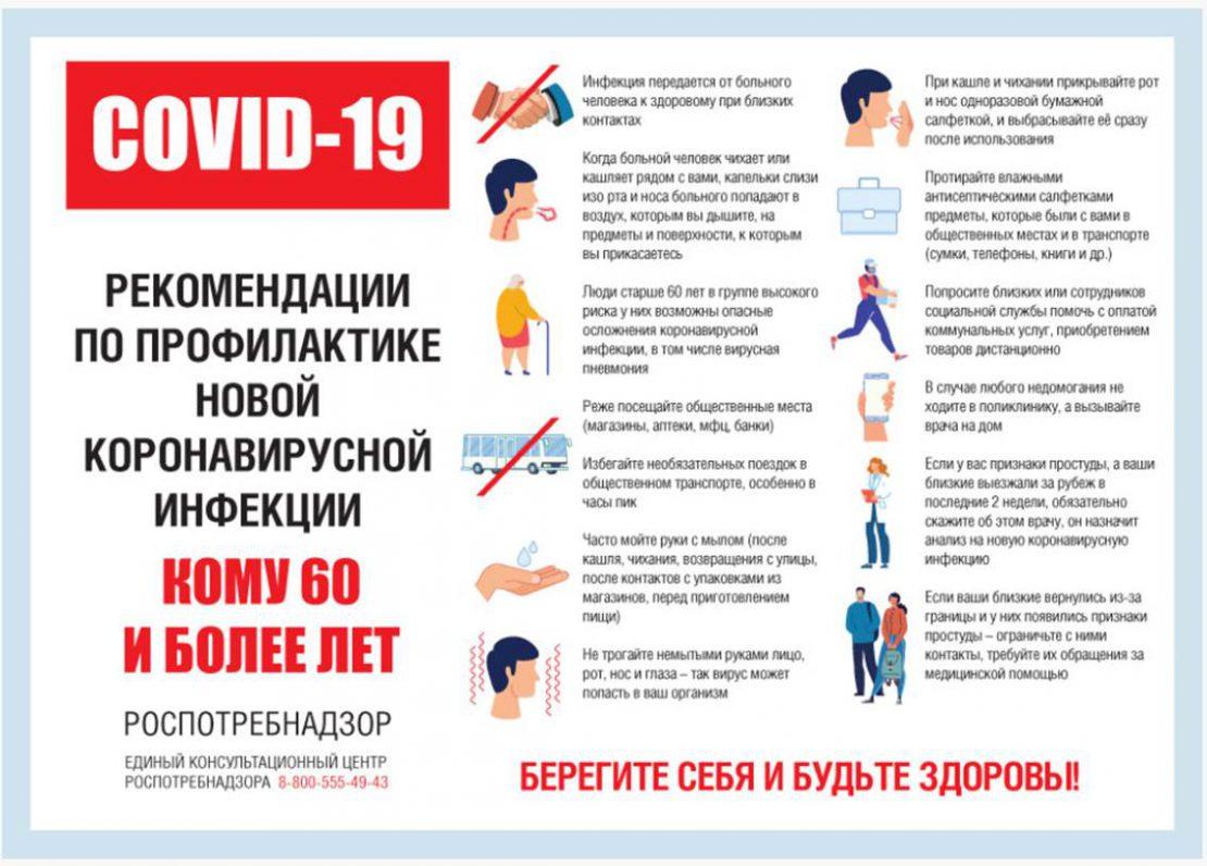 Рекомендации по профилактике коронавирусной инфекции