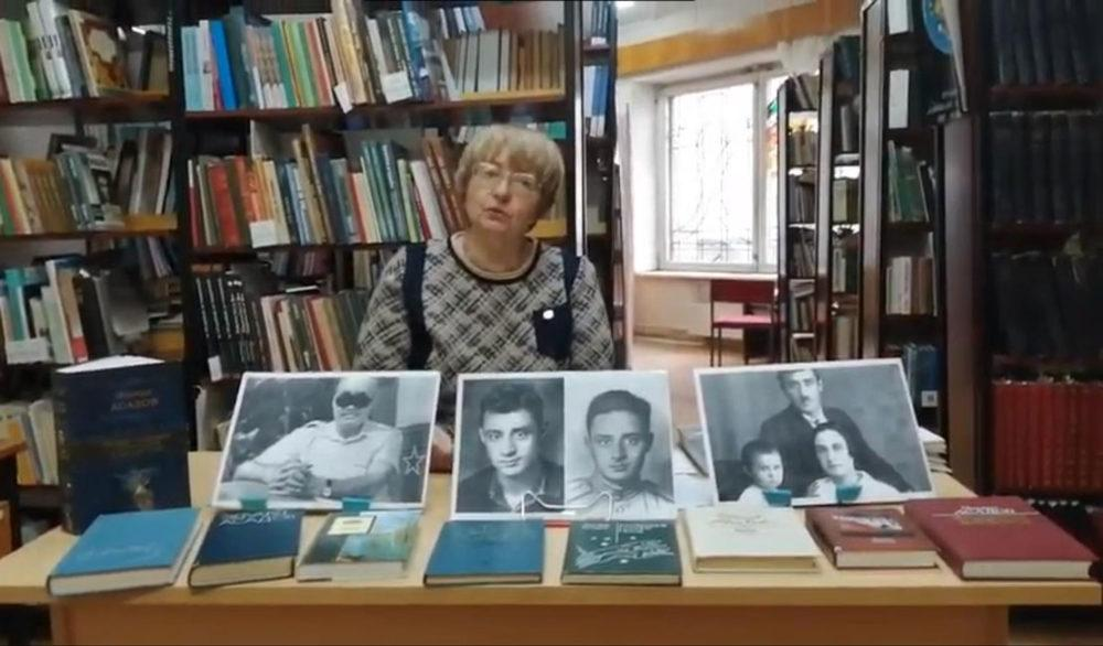 Литературная страница «Видеть сердцем» к 75-летию Победы