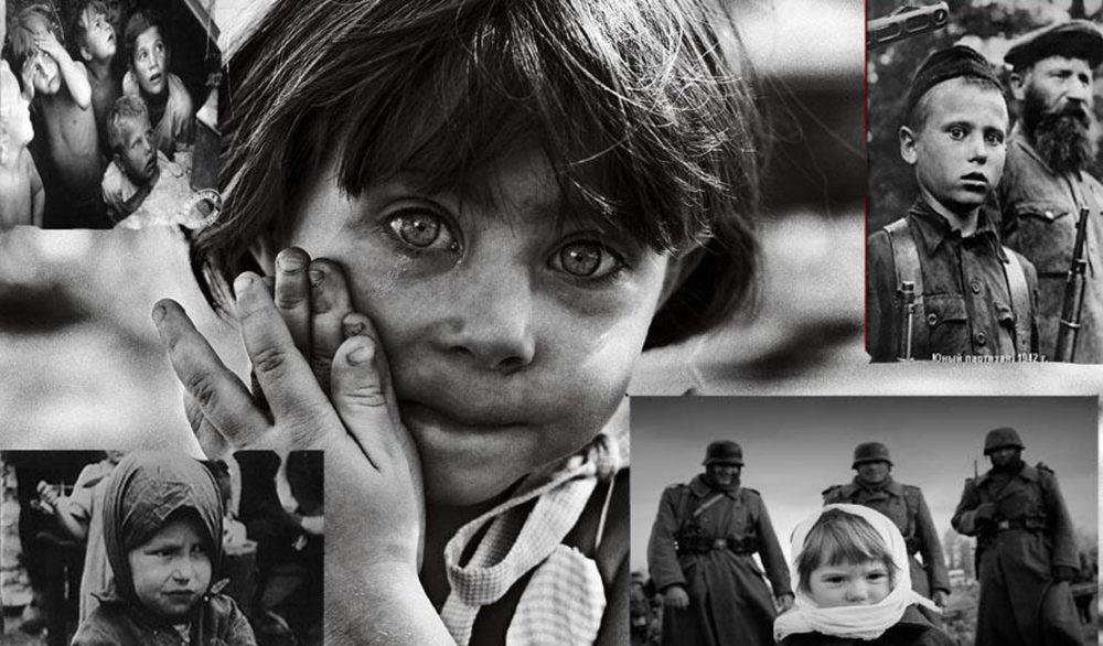 В огне войны сгорело детство