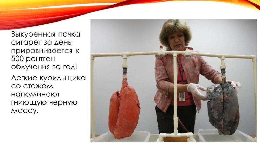 я против курения