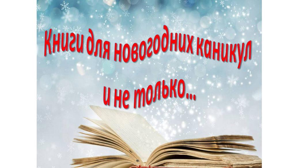 Что почитать на новогодних каникулах